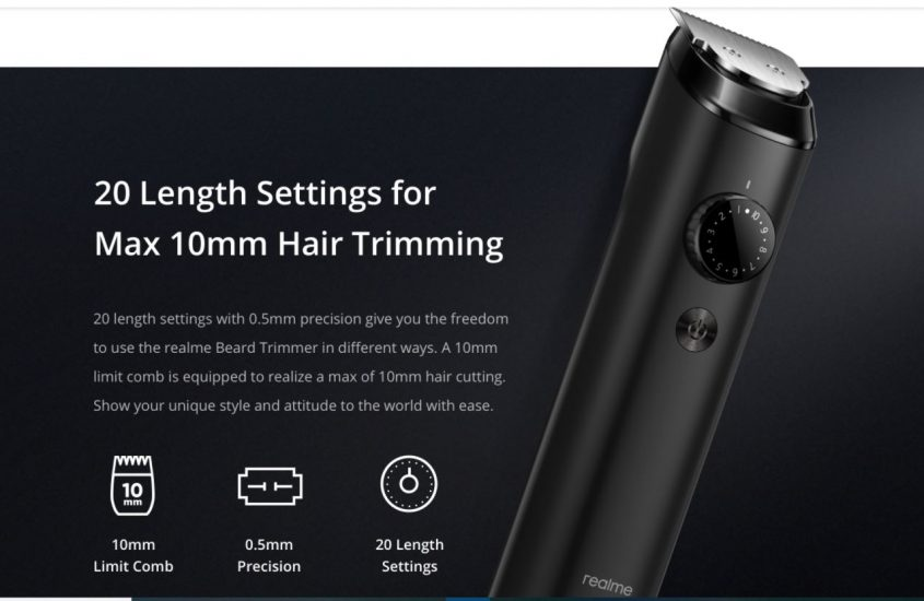 All Details about Realme Beard Trimmer Plus